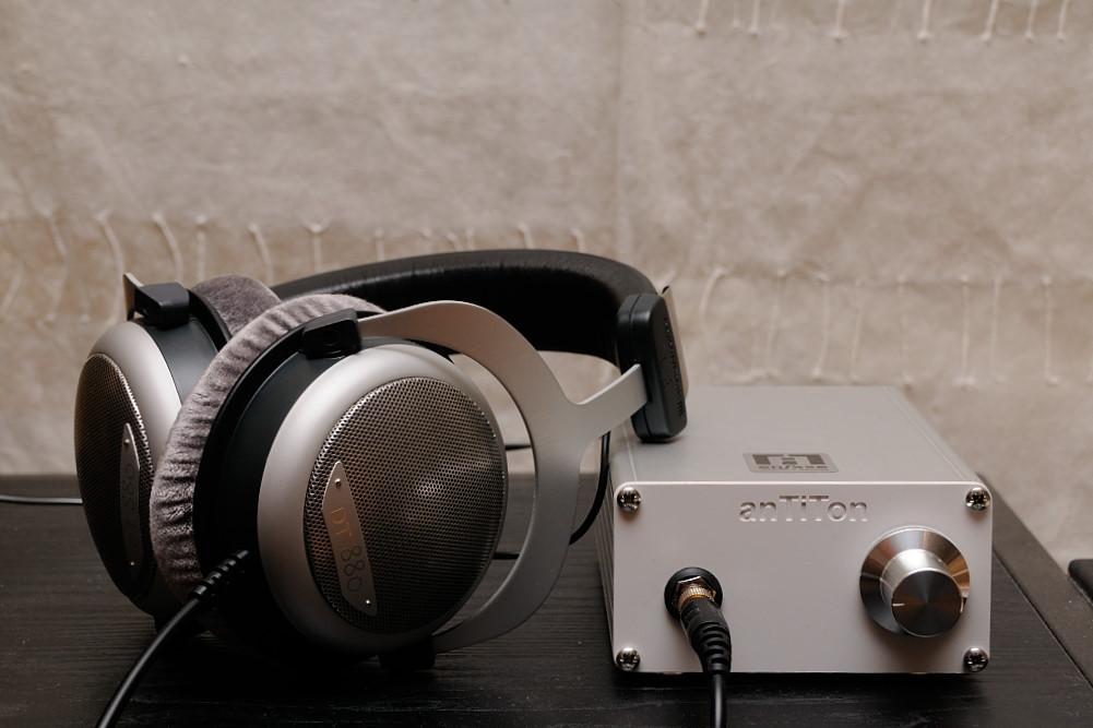 anTiTon enFase hybrid headphone amplifier  KH1