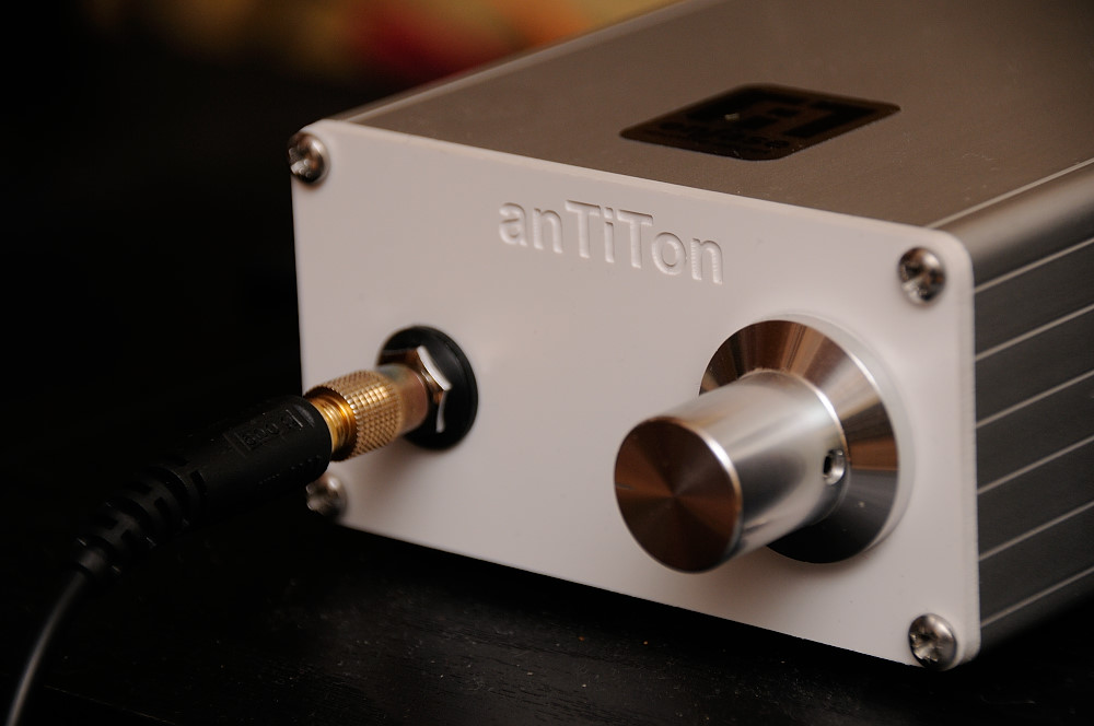 anTiTon enFase hybrid headphone amplifier  EnFase